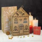 12 Geschenktueten Lebkuchenhaus